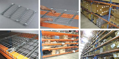 Picture of Heavy Duty Wire Mesh Decks for Pallet Racking 840 D x 1340 W